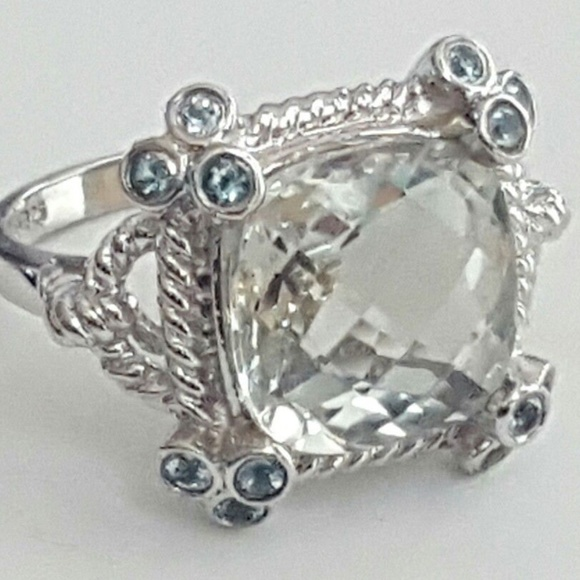 b3e80a4e90726 Vintage Ring Jewelry Women's 925 Silver Stamped